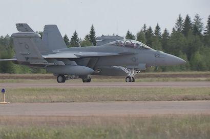 """Ilmavoimien hävittäjätesteissä viimeisenä on vuorossa Super Hornet  – """"Growler on elektronisen sodankäynnin mahtikone"""""""