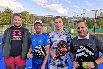 Padel-buumi rantautui Rovaniemellekin – Viikonlopun turnauksessa mittelevät aloittelijat ja SM-tason pelaajat