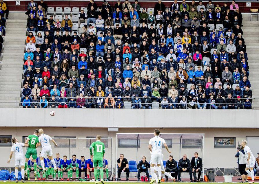 Alle 21-vuotiaiden EM-karsintaottelu pelattiin tiistaina Raatissa. Suomi pelasi tasapelin Pohjois-Irlantia vastaan.