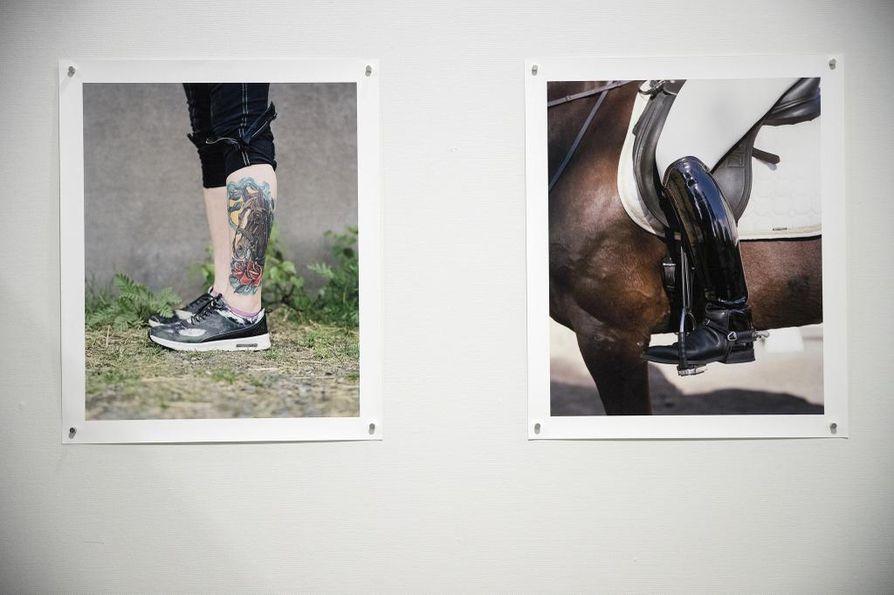 Äimärautio-näyttelyssä yksityiskohdilla on tärkeä rooli. Detaljit kertovat esimerkiksi harrastajien kiintymyksestä hevosiin.