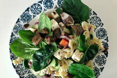 Tee-se-itse: Raikas Beanit-pastasalaatti