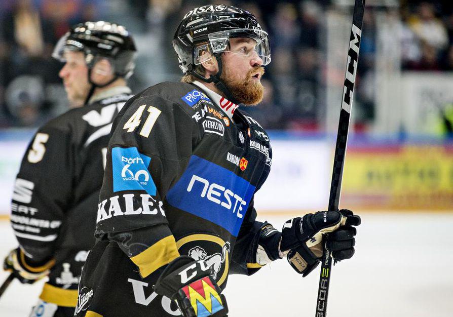 Jari Sailio on pelannut Kärpissä neljä vuotta, ja kuuluu joukkueen vakiokalustoon.