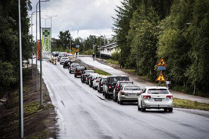 Melkein valmis, mutta yli puoli vuotta myöhässä – Rovaniemen Jäämerentie on ollut sekaisin melkein kaksi kesää remontin takia, nyt loppu häämöttää vihdoin