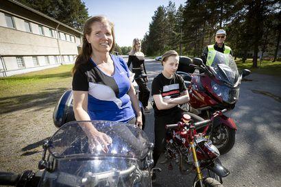 Moottoripyöräily piristyi ennätyslukemiin Oulussa – erityisesti ajamisesta ovat kiinnostuneet yli 40-vuotiaat kuskit