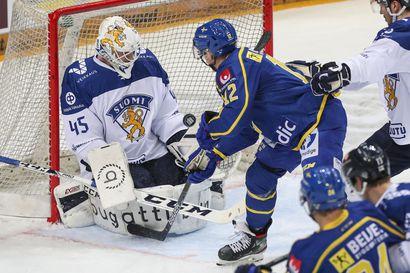 Ruotsi kaatoi Suomen jääkiekon MM-kenraaliharjoituksessa – kisakokoonpanon odotus alkoi heti pelin jälkeen