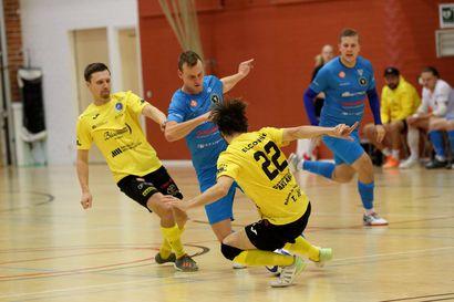 Vieska Futsal tarjosi liigavauhtia
