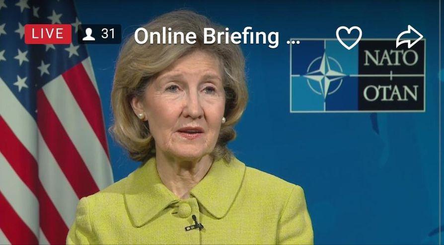 Yhdysvaltojen Nato-lähettiläs Kay Bailey Hutchinsonin mukaan Suomi olisi Yhdysvalloille mieluinen Nato-kumppani.
