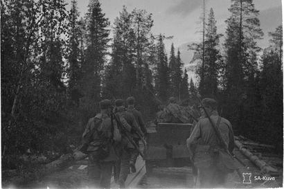 Päätalon viisi vuotta jatkosodassa – Kohtalokas oli Kapustnajajoki, jossa hän haavoittui lähes kuolettavasti