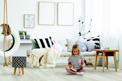 Raikasta kotisi ilmettä uudella lattialla