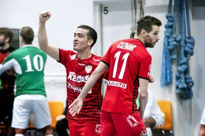 FC Kemi puolusti KaDy:n nurin