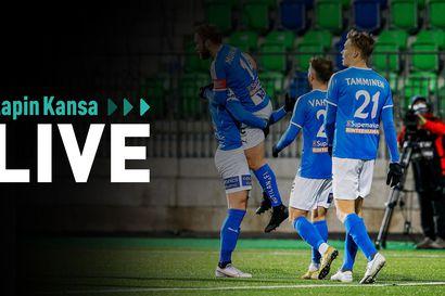 Lapin Kansa Live: AC Oulu-RoPS  peli alkaa 14.45 –Katso tallenne tästä
