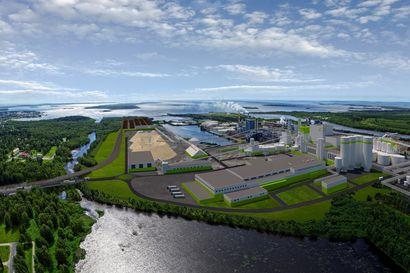 Kemin jättitehtaan rakennusluparumba käynnistyi–Metsä Fibre hakee ensimmäisenä lupaa biotuotetehtaan kaustisointilaitokselle