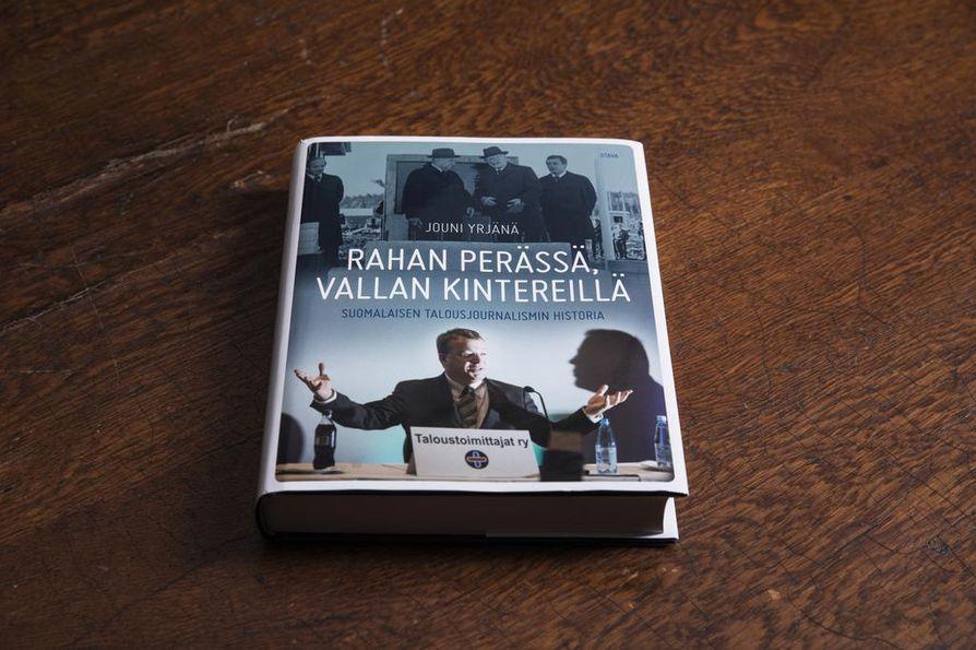 Rahan perässä, vallan kintereillä, suomalaisen talousjournalismin historia -teos julkaistaan tänään.