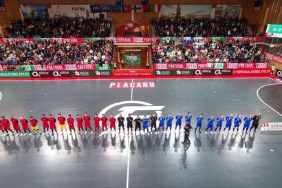 Futsalmaajoukkueen MM-karsinnat siirtyvät