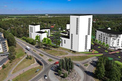 Katso havainnekuvat: Sopisiko Kempeleen ydinkeskustaan 16-kerroksinen asuintalo? Kunnantalon alueen asemakaavamuutoksen luonnokseen voi ottaa kantaa kuukauden ajan