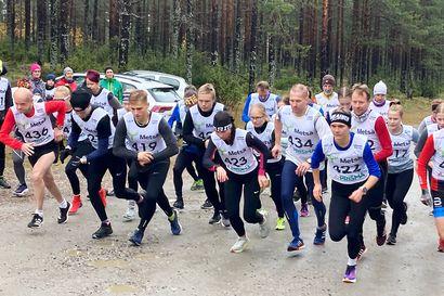 Visa Ski Team Kemin Jonna Vesteniuksella lupaava testijuoksu Hanskin hölkässä