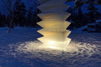 Geometrinen Peace of mind voitti Pohjoismaiset jäänveistokisat Enontekiöllä