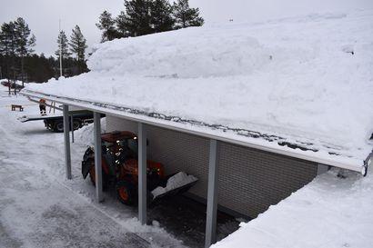 Posion palvelujohtajalta vastine lumikuormista – löytää useita puutteita kunnan toiminnasta