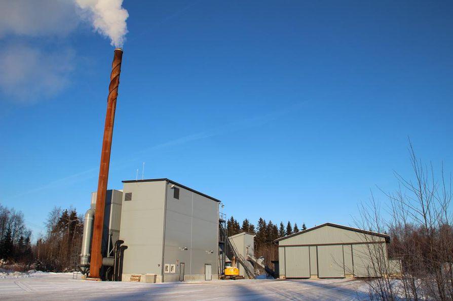Turve- ja polttoaineyhtiönä tunnettu Vapo tähtää uusille markkinoille. Kuvassa Vapon lämpökeskus Vuokatissa.