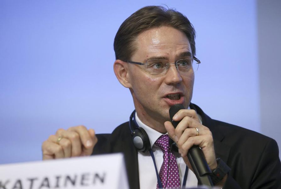 Jyrki Katainen on Euroopan komission varapuheenjohtaja.