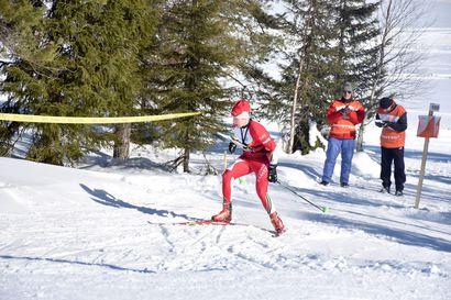 SM-plaketti KEV:lle sprinttiviestissä – Tauriainen ja Aikio hiihtosuunnistivat kuudenneksi Hollolassa