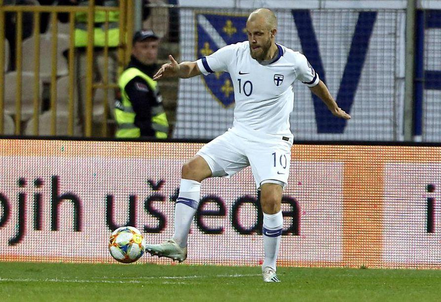 Suomen jalkapallomaahyökkääjä Teemu Pukki on ollut yksi Englannin Valioliigan syksyn kohunimistä.