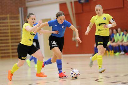 Futsalin paikallispeli päättyi tasapeliin