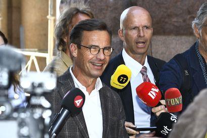 Ruotsissa maltillisen kokoomuksen Kristerssonille hallitustunnustelijan tehtävä
