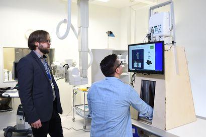Oulun yliopistossa kehitetään pienikokoista röntgenlaitetta, jota voitaisiin käyttää esimerkiksi laskettelukeskuksissa
