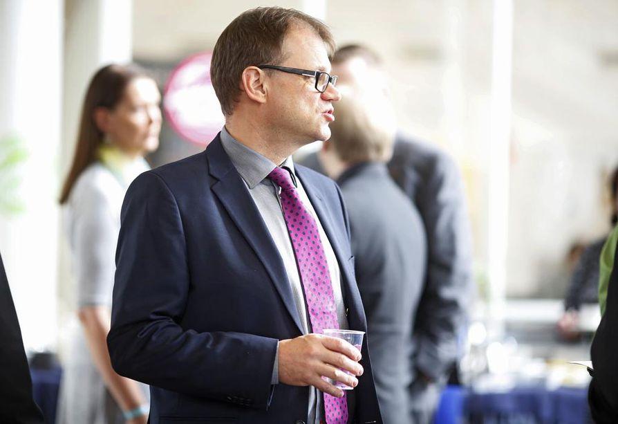 Pääministeri Juha Sipilä (kesk.) on sanonut, että hänellä on puhdas omatunto.