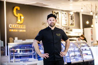 Choco Deli kasvoi autotallista kahden liikkeen yritykseksi – Jouko Rajanen on Rovaniemen vuoden yrittäjä