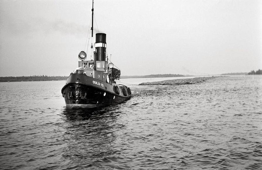Rellu 2 upposi alueella lähes 40 vuotta sitten.