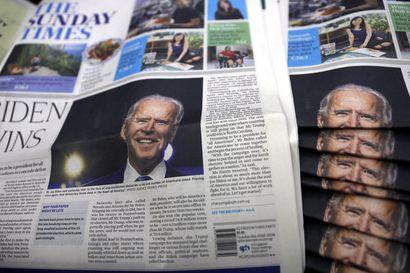 Bidenin johto kasvoi, kun Yhdysvaltain presidentinvaalien viimeiset tulokset varmistuivat – Trump puhui ensi kertaa julkisuudessa, mutta ei maininnut vaaleja suoraan