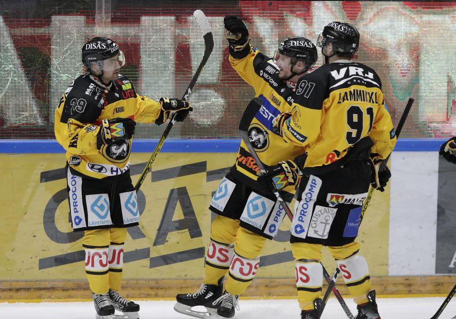 Kärpät kaatoi Saipan Raksilassa maalein 2-1.