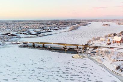 Kalixin silta on suljettuna ystävänpäivään saakka – sillan siltatuesta löytyi vaurio