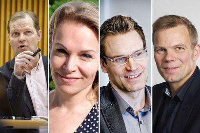 Rovaniemen kaupunginjohtajakisan kärkinelikosta yksi on syntynyt Rovaniemellä, kaksi muuta opiskellut Lapin yliopistossa - Kuka heistä johtaa matkailukaupungin uudelle vuosikymmenelle?