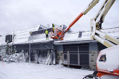Pikku-Syöte investoi uusiutuvaan energiaan – huipulle asennetaan aurinkopaneeleja