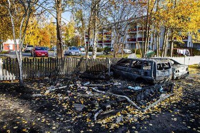Poliisi pyytää vihjeitä Rovaniemen tuhopolttovyyhdissä – kaupungissa on syttynyt kuusi roskakatospaloa muutaman viikon sisällä
