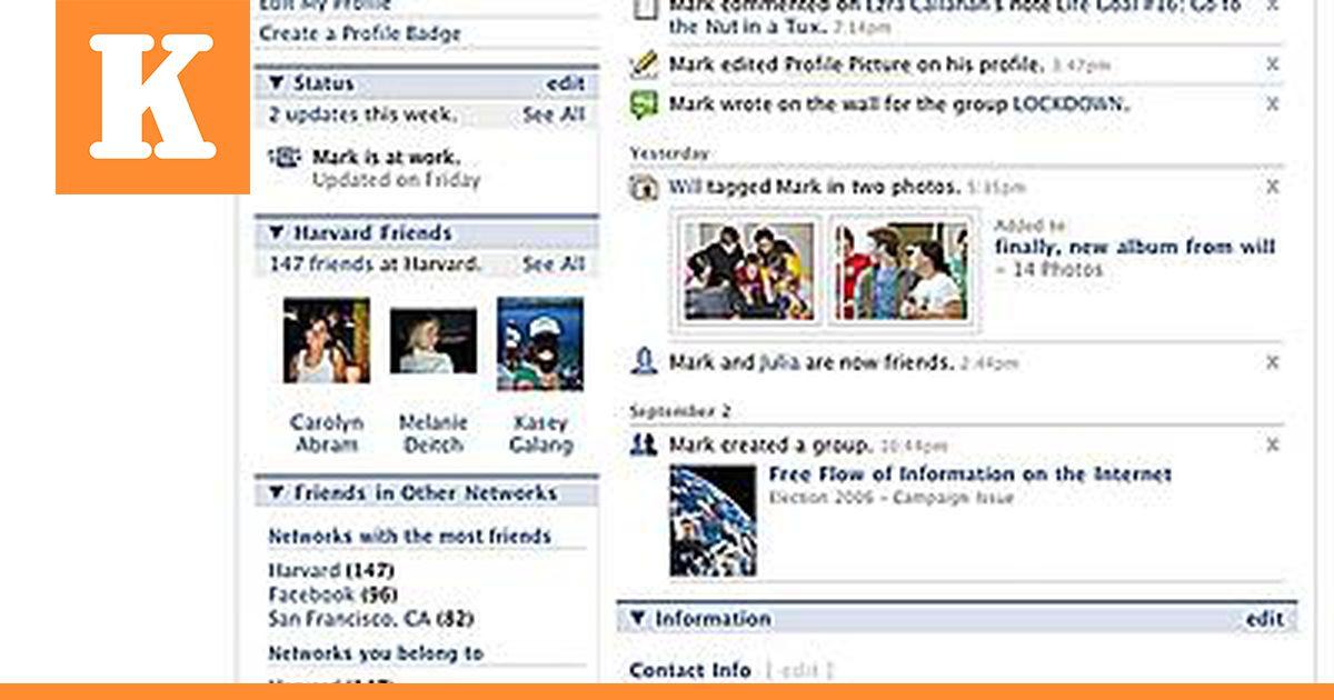 Facebookin Käyttö