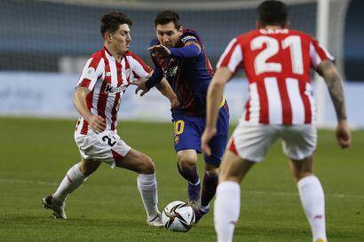 Messille kaksi ottelua pelikieltoa poikkeuksellisesta punaisesta kortista – Barcelona valittaa tuomiosta