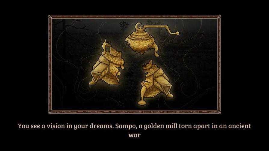 Please the Gods on tarinaltaan ikään kuin jatkoa Kalevalalle. Pelissä pyritään kokoamaan sampo, joka kansalliseepoksessa tuhoutuu.