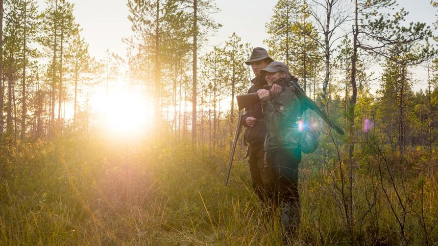 Pudasjärvellä asuvat Sanna ja Antti Kokko ovat tulleet tutuiksi Eränkävijöistä.