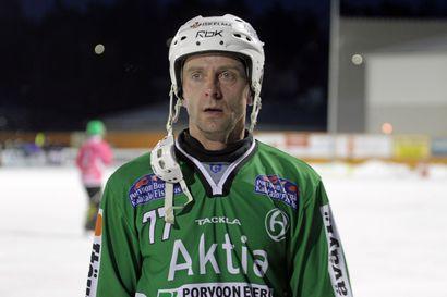 Sami Laakkonen palaa jääpallokentille vielä kerran