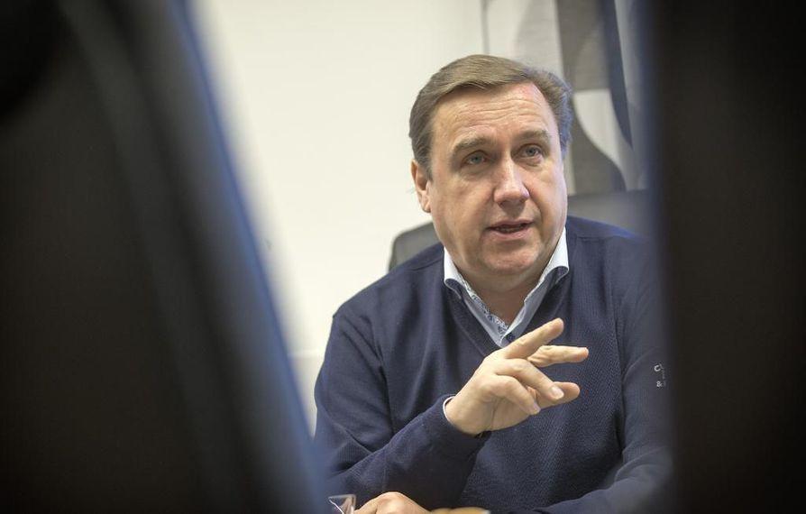 Juha Junno totesi, että moni Hokin pelaaja on noussut liiga- ja maajoukkueryhmiin.