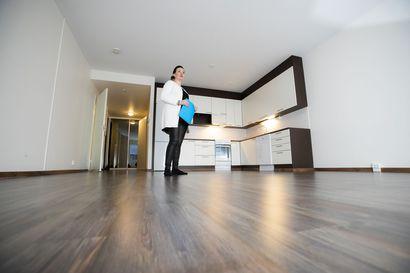 Vanha raahelainen asunto myynnissä keskimäärin neljä ja puoli kuukautta