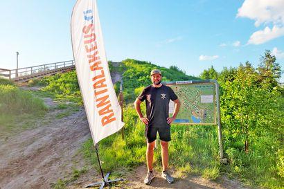 Frisbeegolfin Rantalakeus-liiga etenee: Murron kentällä tiukkaa vääntöä