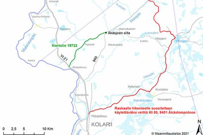 Äkäsjoen sillan peruskorjaus käynnistyy Kolarissa