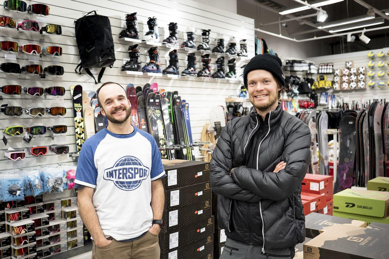 Arctic Weekend ja Intersport Rovaniemi pitävät yhdessä huolta Lapin laskukansasta