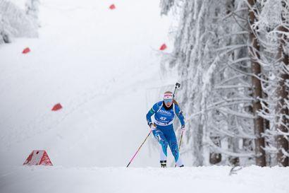 Suomi kahdeksas Oberhofin sekaviestissä