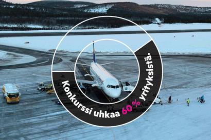 Lapin matkailua uhkaa pahimmillaan massiivinen konkurssiaalto – Kysely matkailuyrittäjille kertoo, että alamäki on käynnissä, jos turisteja ei saada Suomeen
